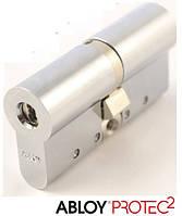 Цилиндр замка ABLOY Protec2 CY 322  63 мм (31x31) хром