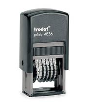 Мининумератор TRODAT 4836 6-разрядный