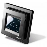 Терморегулятор для теплого пола Devi DEVIreg Touch Black (140F1069)