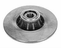 Диск тормозной задний (+подшипник/+кольцо ABS) Trafic2/VivaroA  MEYLE