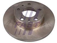 Диск тормозной передний полный Ducato/Boxer/Jumper 1/1,4t 94>02  FAST
