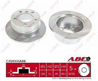 Диск тормозной задний Sprinter 95>06/LT2 2t  ABE