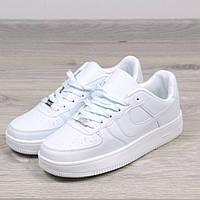Кроссовки мужские ботинки Nike Air Force белые