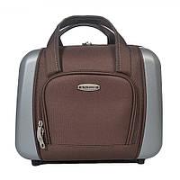 Сумка для чемодана KAIMAN - коричневый