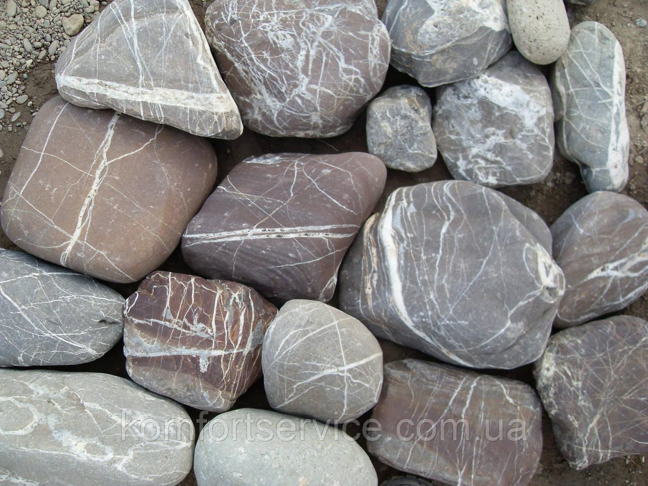 Мощение ландшафтный дизайн - натуральный камень
