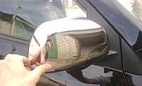 Накладки на зеркала нерж Toyota RAV-4 06-10