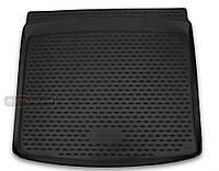 Коврик в багажник Renault Captur с 2016- , цвет: черный ,для комплектаций без фальш-пола