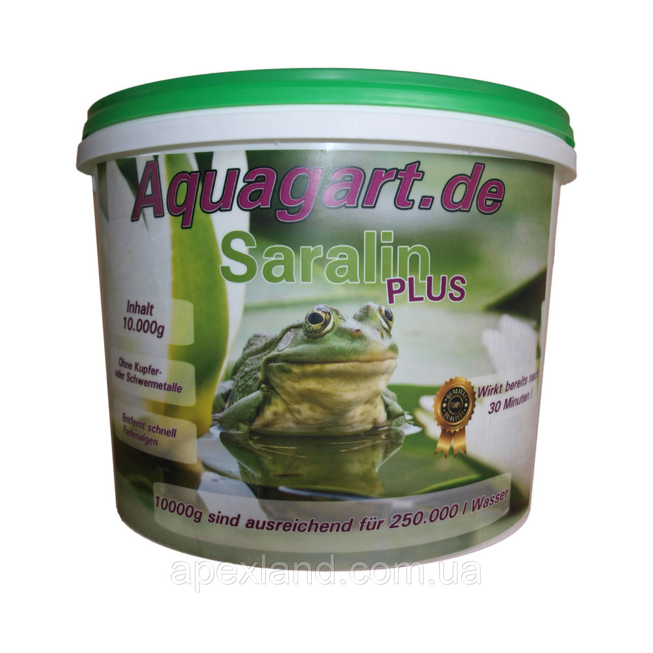 Средство для борьбы с нитчатыми водорослями «Saralin Plus» 2,5 кг
