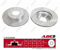 Диск тормозной передний Ducato/Boxer/Jumper 1,8t 94>06  ABE