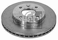 Диск тормозной передний (-ABS) Kangoo 1.2i/1.4i/1.9D 97>00  FEBI BILSTEIN