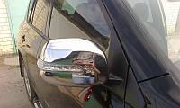Накладки на зеркала с поворотом Toyota RAV-4 06-10