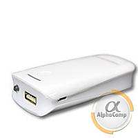 Корпус Power BANK (без АКБ, 2×18650) фонарик, white AG4
