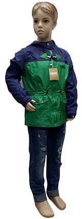 Куртка детская весенняя для мальчика Midimod Gold размеры 110 116 ,146 152, фото 2