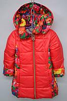 Удлиненная детская куртка на весну/осень