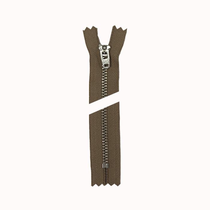 Молния YKK 14 см тип 4,5 цвет--854 капуч+никель
