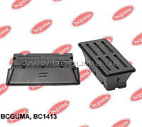 Подушка рессоры передней металлической нижняя L Sprinter 95>06/LT2 3-4t  BCGUMA