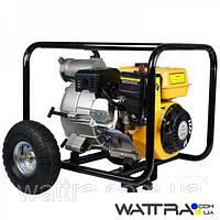 Мотопомпа FORTE FPTW30 (45 м3/ч) бензиновая для грязной воды