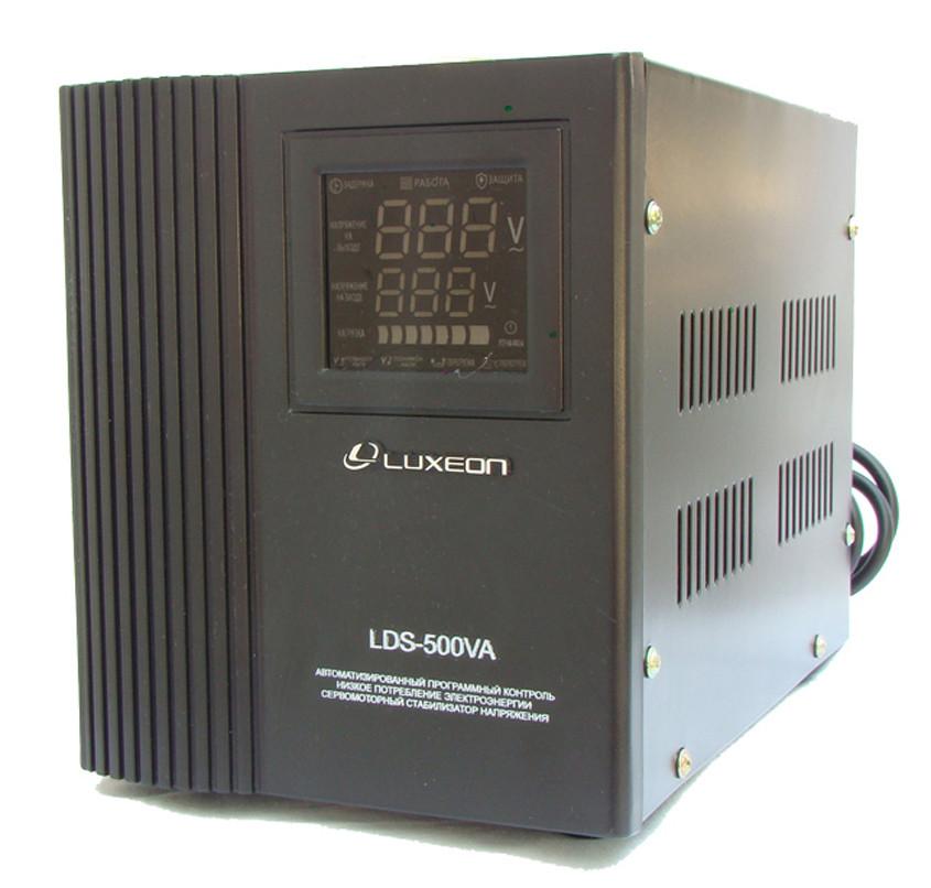 Стабилизатор напряжения сервоприводный Luxeon LDS-500 500Вт