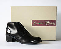 Женские ботинки Clarks оригинал натуральная кожа 37,5