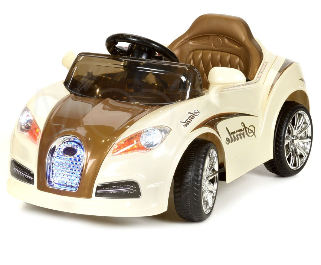 Детский электромобиль CABRIO коричневый