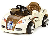 Детский электромобиль CABRIO коричневый, фото 1