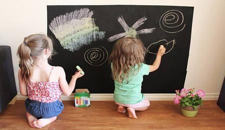 Наклейка на стену для рисования мелом 45х200см