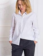 5bba5140bbd Стильная однотонная женская блуза с длинными рукавами