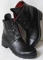 Стильные Hermess болты! ботинки женские демисезонные сапоги Гермесc кожа