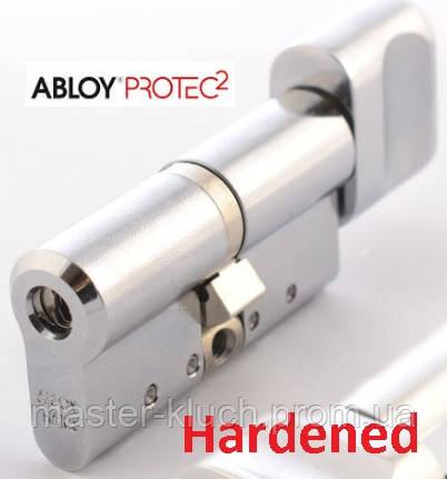 Цилиндр замка ABLOY Protec2 CY 333  63Т мм (32x31) хром