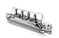 3D металлический конструктор Titanic, фото 1