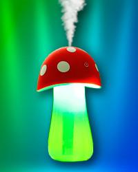 Ультразвуковой мини-увлажнитель воздуха «Грибок» с функцией ночника - Интернет-магазин Купи Тут  в Киеве