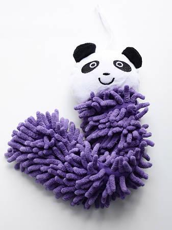 Детское полотенце-игрушка из микрофибры, панда