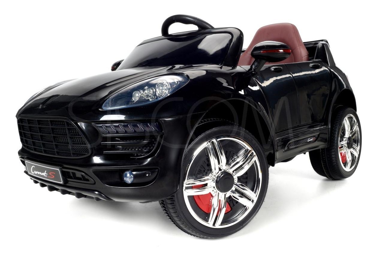 Детский электромобиль Makan (черный)