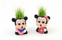 Керамический травянчик с семенами Мики Маус