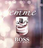 Hugo Boss Femme парфюмированная вода 75 ml. (Хуго Босс Фемме), фото 3