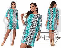 Красивое женское платье большого размера у-t15151201