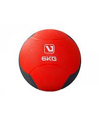 Медбол твердый 6 кг MEDICINE BALL LiveUp LS3006F-6