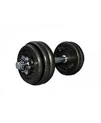 Гантель наборная железная 15 кг LiveUp LS2311-15