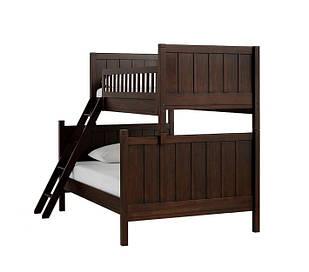 Двоярусне ліжко «Camp» з широким спальним місцем