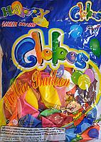 Воздушные шары (синяя пачка) (100 шт.)