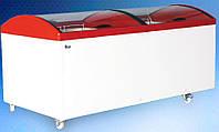 Морозильный ларь с гнутым стеклом M1000V
