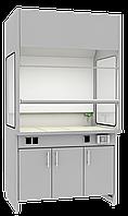 Шкаф вытяжной лабораторный ШВЛ-02.3 (стеклянные боковины)