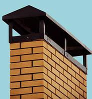 Накрывка (колпак) на дымоход, флюгарка 600х2000  0,5мм