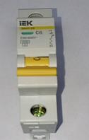 Автоматический выключатель ВА47-29 6 А