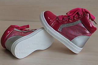 Лаковые ботинки типа слипон на девочку тм J&G р. 23, фото 2