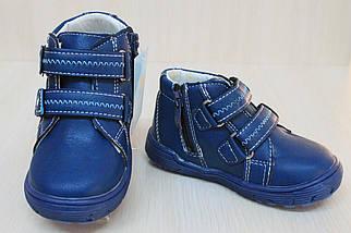 Детские ботинки на мальчика, демисезонная обувь, детские закрытые туфли тм Tom.m р.21, фото 3