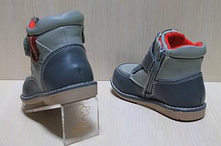 Ботинки на мальчика, демисезонная ортопедическая обувь тм Шалунишка р.21,22,23, фото 2