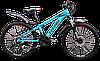 """Горный велосипед TITAN Solar 24"""" (Blue-Black-Red)"""