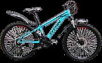 """Горный велосипед TITAN Solar 24"""" (Blue-Black-Red), фото 1"""