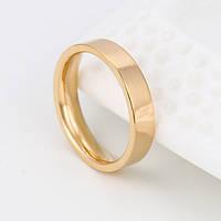 Классическое обручальное кольцо в позолоте 14028-20,5